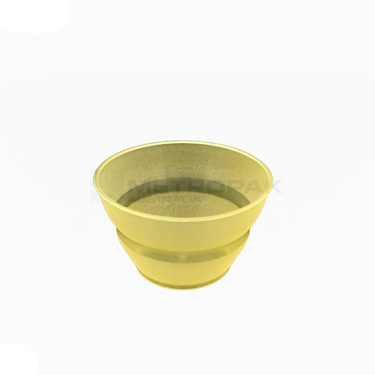 Plastic Gelato Cup 90ml Yellow Gelato Ice Cream