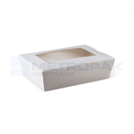Lunch Box Window Medium - White