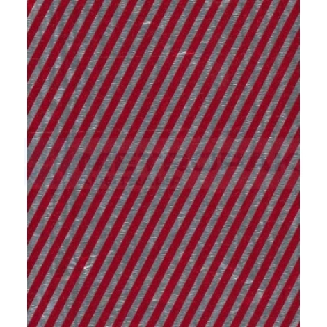 Chocolate Foil - Red Stripe
