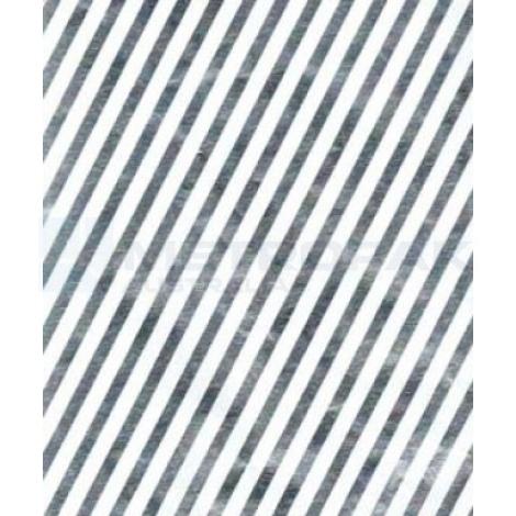 Chocolate Foil -White Stripe