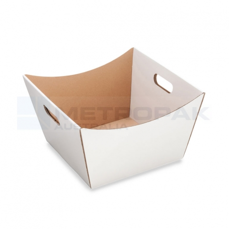 Deluxe Hamper Tray Large - White