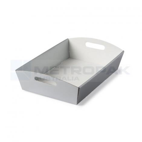 Hamper Tray Large - Silver