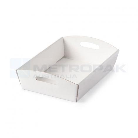 Hamper Tray Small - White