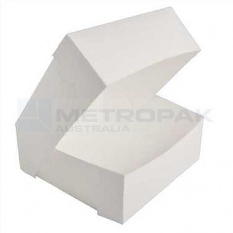 "Milkboard Cake Box 10x10x4"""