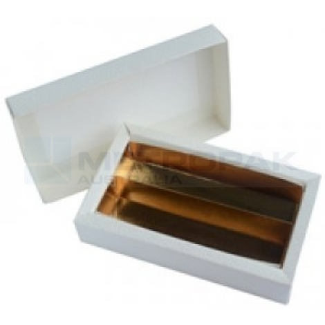 Chocolate Box & Lid White