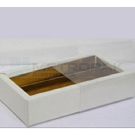 8 Piece Chocolate Tray White