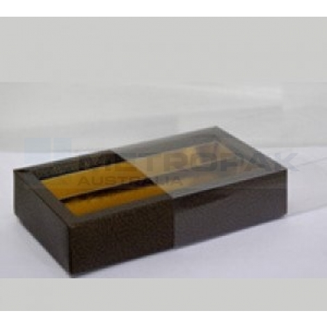 8 Piece Chocolate Tray Brown
