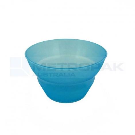 Plastic Gelato Cup - 210ml Blue