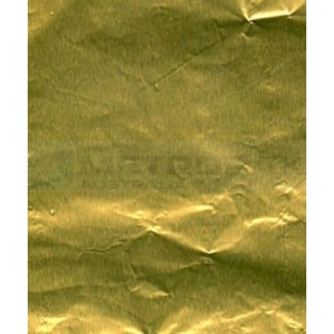 Chocolate Foil - PAPER BACKED - Gold