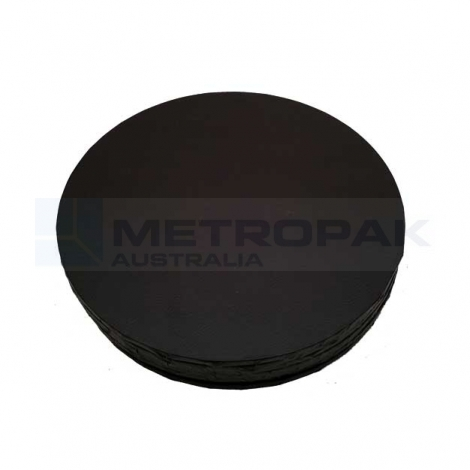 "Masonite Black 10"" Round"