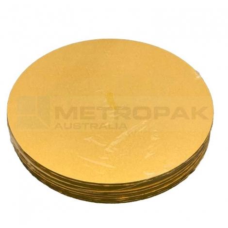 """Masonite Gold 9"""" Round"""