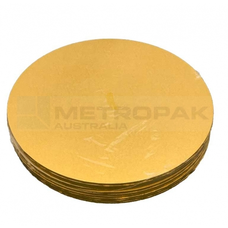 "Masonite Gold 6"" Round"