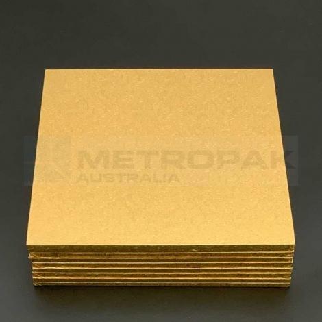 """Masonite Gold 8"""" Square"""