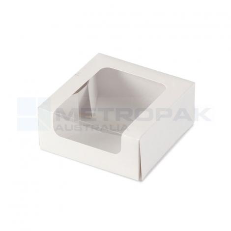Macaron Box -  Small White