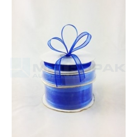 Ribbon 38mm x 22mtrs Satin Edge Royal Blue