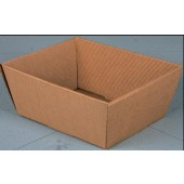 Hamper Tray - Corrugated Brown