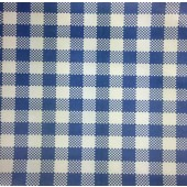 Greaseproof paper - Gingham Blue