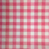Greaseproof paper - Gingham Pink