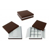 Chocolate Box  -9 Piece - Matte Brown