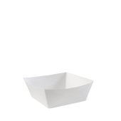 Food Tray #7 Square White (CLEARANCE)
