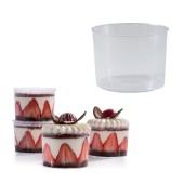 Plastic Dessert Cup -  210ml