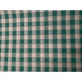 Greaseproof Paper - Gingham Green