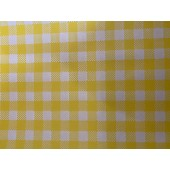 Greaseproof Paper - Gingham Yellow
