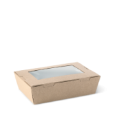 Lunch Box Window Medium - Kraft