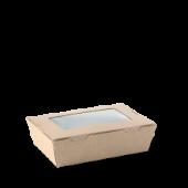 Lunch Box Window Small - Kraft