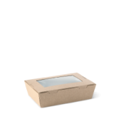 Lunch Box Window Extra Small - Kraft