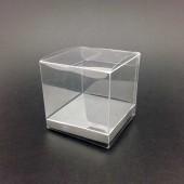 PVC Cube 8cm - Silver Base