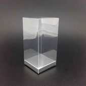 PVC Tall Box 8x13cm - Silver Base