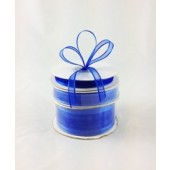 Ribbon 10mm x 22mtrs Satin Edge Royal Blue
