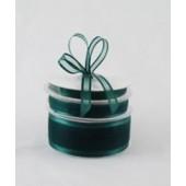 Ribbon 15mm x 22mtrs Satin Edge Organza - Hunter Green