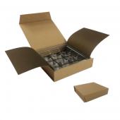 Chocolate Box - 9 Piece - Kraft