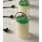 Dessert Cup Oval HiLo 80ml