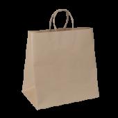 Carry bag - Twist Handle - Brown Kraft - Jumbo